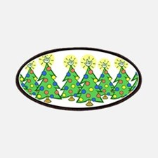 ILY Christmas Forest Patches
