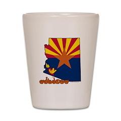 ILY Arizona Shot Glass