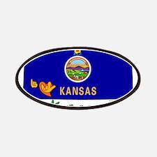 ILY Kansas Patches