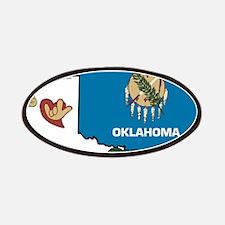 ILY Oklahoma Patches