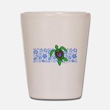 ILY Hawaii Turtle Shot Glass