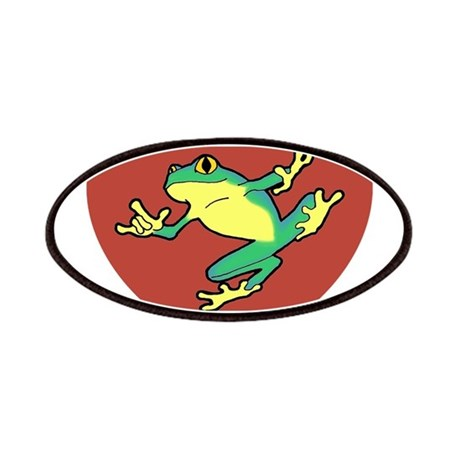 ASL Frog in Heart Patches