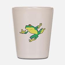 ASL Frog in Flight Shot Glass