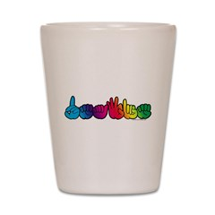 DEAFIE Rainbow Shot Glass