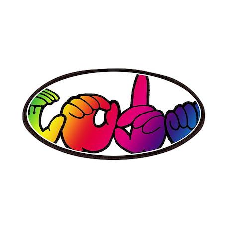 CODA Rainbow Patches