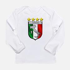 Italia Shield Long Sleeve Infant T-Shirt
