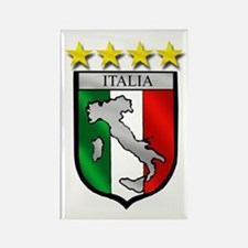 Italia Shield Rectangle Magnet