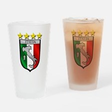 Italia Shield Drinking Glass