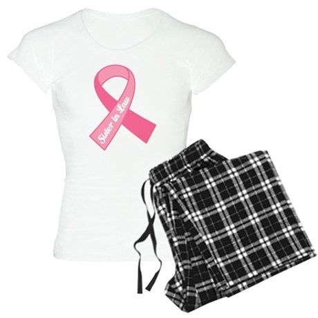 Sister-in-Law Breast Cancer Pink Ribbon Women's Li