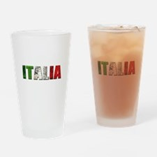 Italia Logo Drinking Glass