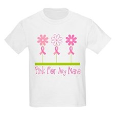Pink Ribbon For My Nana T-Shirt