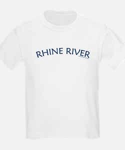 Rhine River - Kids T-Shirt