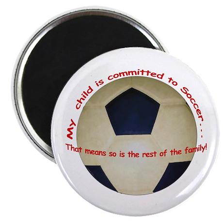 Soccer Mom / Dad Magnet