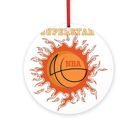 OYOOS Basketball design Ornament (Round)