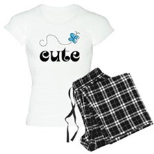 Cute Butterfly Matching Pajamas