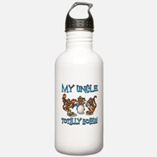My Uncle totally rocks Water Bottle