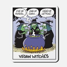 Vegan Witches Mousepad