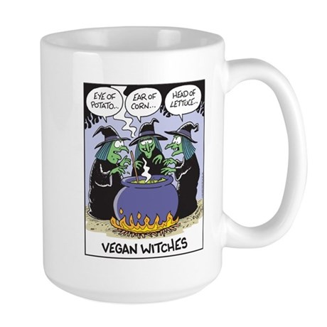 Vegan Witches Large Mug