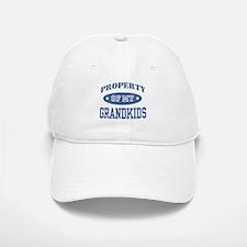 Property Of My Grandkids Baseball Baseball Cap
