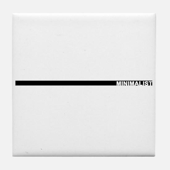 Minimalist Tile Coaster
