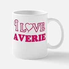I Love Averie Mugs