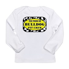 Bulldog PIT CREW Long Sleeve Infant T-Shirt