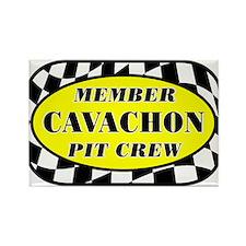 Cavachon PIT CREW Rectangle Magnet