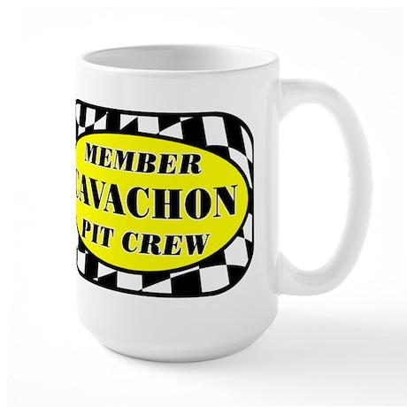 Cavachon PIT CREW Large Mug