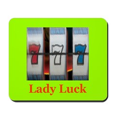 Lady Luck 777 Mousepad