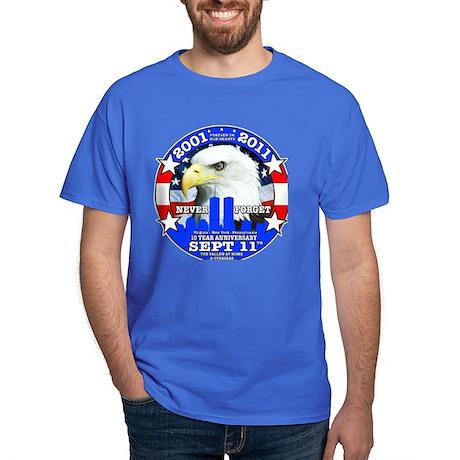 9-11 Sept 11 10th Anniversary Dark T-Shirt