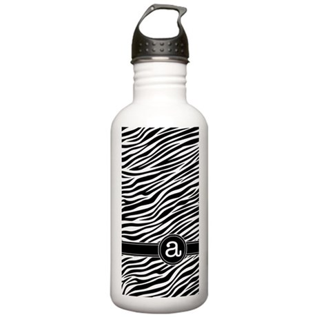 Monogram Letter A Stainless Water Bottle 1.0L