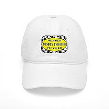 Boston Terrier PIT CREW Baseball Cap