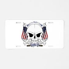 Flight 93 Aluminum License Plate