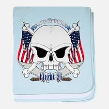 Flight 93 baby blanket