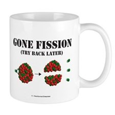 Gone Fission Small Mug