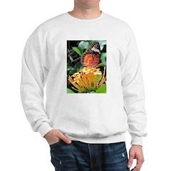 Butterfly on a Blossom Sweatshirt