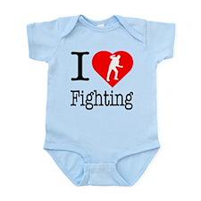 I Love Fighting Infant Bodysuit