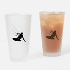 Kitesurfing Drinking Glass