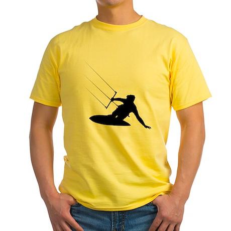 Kitesurfing Yellow T-Shirt