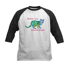 Rescue is Favorite Breed Multi Colors Tee