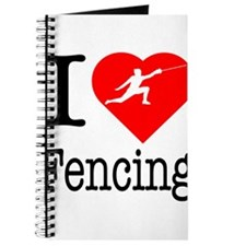 I Love Fencing Journal
