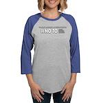 No Gamble On Linux Organic Women's T-Shirt