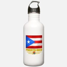 Flag of Puerto Rico Water Bottle