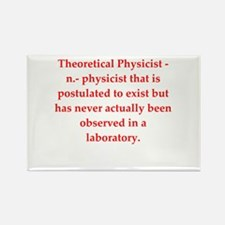 funny science joke Rectangle Magnet