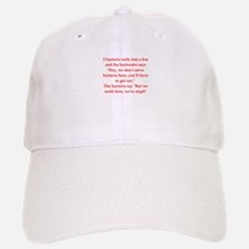funny science joke Baseball Baseball Cap