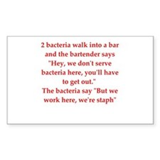 funny science joke Decal
