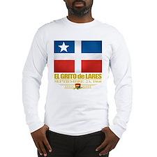 El Grito de Lares Long Sleeve T-Shirt
