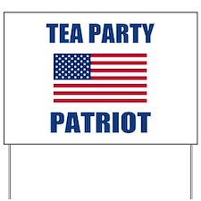 tea party patriot Yard Sign