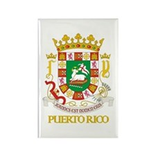 Puerto Rico COA Rectangle Magnet