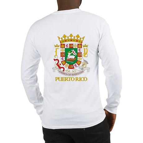 Puerto Rico COA Long Sleeve T-Shirt
